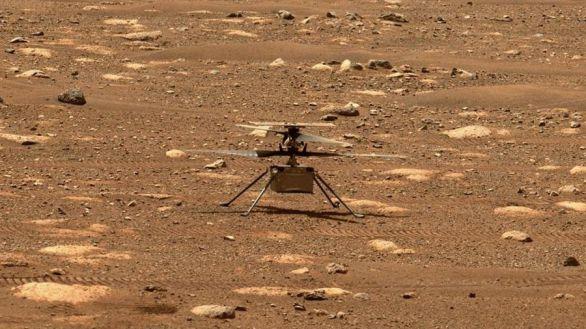 El helicóptero Ingenuity hace historia al volar por primera vez en Marte