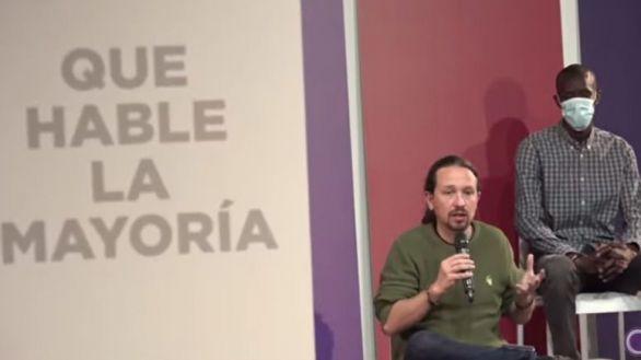 Iglesias se erige como garante de las políticas de izquierdas frente a la continencia fiscal de Gabilondo
