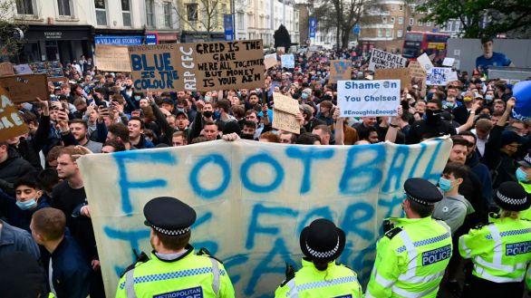 La Superliga no dura ni 48 horas: los seis equipos ingleses se retiran