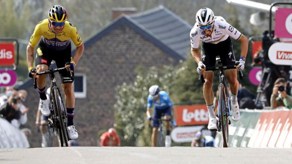 Flecha Valona. Alaphilippe reclama el Muro de Huy, con Valverde tercero