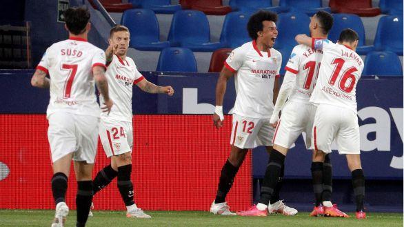 El Sevilla se blinda y reclama sitio en la lucha por el título |0-1