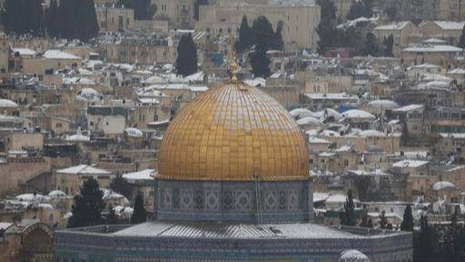 Jerusalén, escenario de enfrentamientos entre palestinos y la Policía israelí