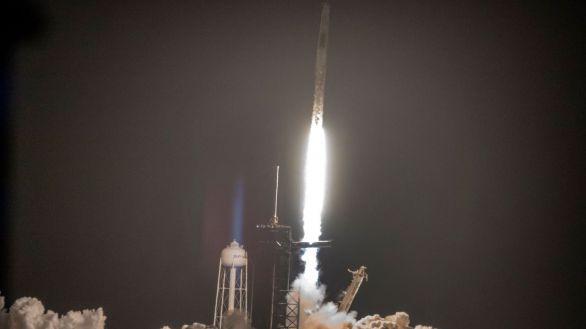 Despega la segunda misión comercial tripulada a la Estación Espacial