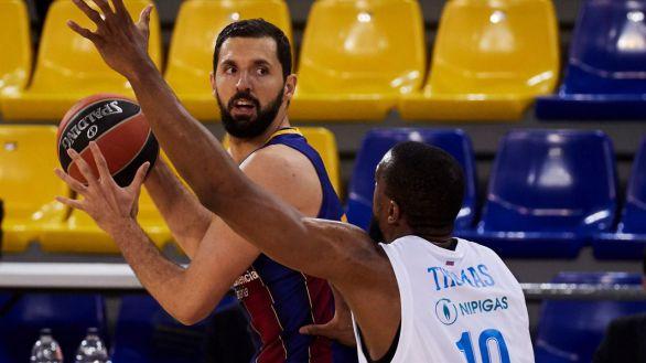 Euroliga Playoffs. El Barcelina se aferra a la serie a base de épica   81-78