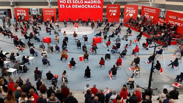 Madrid abre expediente administrativo al PSOE por su mitin en una zona confinada