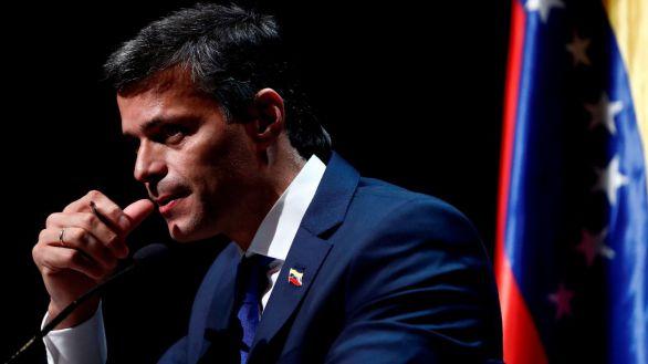 El líder opositor venezolano Leopoldo López, en Madrid