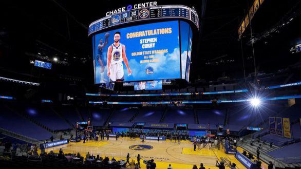 NBA. Espectáculo histórico de Stephen Curry, el MVP perderor