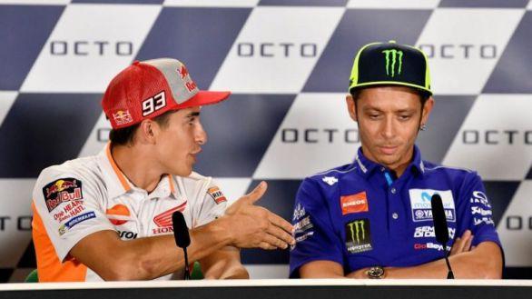 MotoGP. El rencor de Rossi hacia Marc Márquez vuelve a brotar