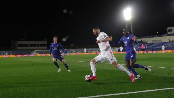 El Real Madrid aguanta ante la exhibición del Chelsea | 1-1