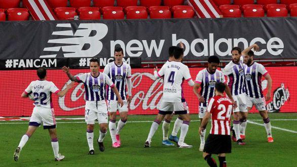 El Valladolid sale del descenso a costa de las aspiraciones europeas del Athletic |2-2
