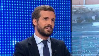 """Casado critica al Gobierno por presumir de """"brotes verdes"""" con 6 millones de parados"""