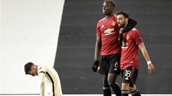 El United destroza a la Roma en Old Trafford y encarrila el rumbo a Polonia |6-2