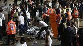 Al menos 44 muertos y 150 heridos en una avalancha durante una fiesta religiosa en Israel