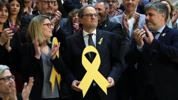 El Supremo ratifica la inhabilitación de Torra por no retirar los lazos amarillos