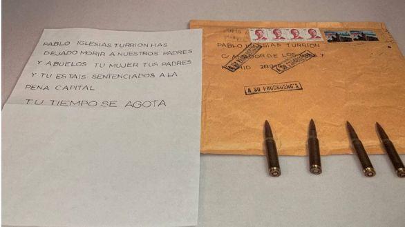 La Policía analiza huellas y restos de ADN en las tres primeras cartas con balas