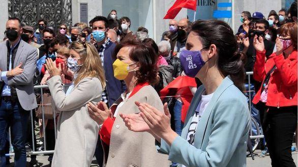 Tras copar el Día del Trabajo, el PSOE acusa a Ayuso de uso partidista del 2 de mayo
