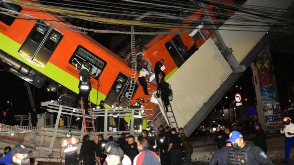 Ciudad de México: 24 muertos al derrumbarse un tramo del metro