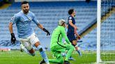 El VAR, la nieve y el fútbol lanzan al City a su primera final | 2-0