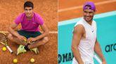 Madrid Open. Historia del tenis español: primer partido entre Nadal y Alcaraz