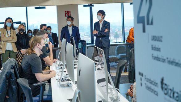 Fundación Telefónica inaugura 42 Urduliz, un campus para formar a los profesionales digitales