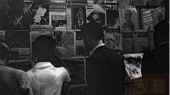 El renombrado 'Archivo de Salamanca' estrena contenidos como el 'Kiosco de la Guerra Civil'