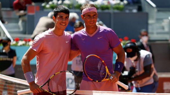 Madrid Open. Nadal se resiste al relevo generacional y arrasa a Alcaraz