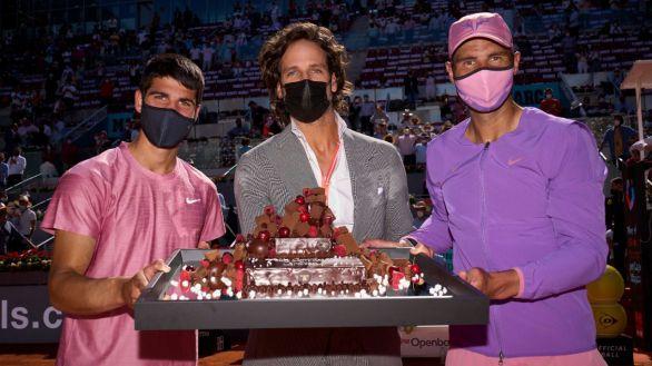 Madrid Open. El gesto de Rafa Nadal a Carlos Alcaraz que le describe