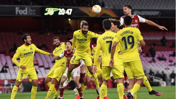 Liga Europa. El Villarreal resiste en Londres y se cita con el United en la final |0-0