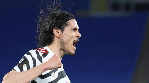 Liga Europa. De Gea y Cavani sofocan la reacción de la Roma |3-2