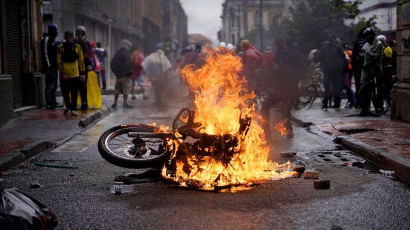 Colombia vive su décimo día de protestas en la calle