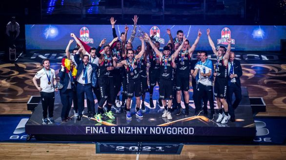 Liga de Campeones. El San Pablo Burgos se proclama campeón por segunda vez