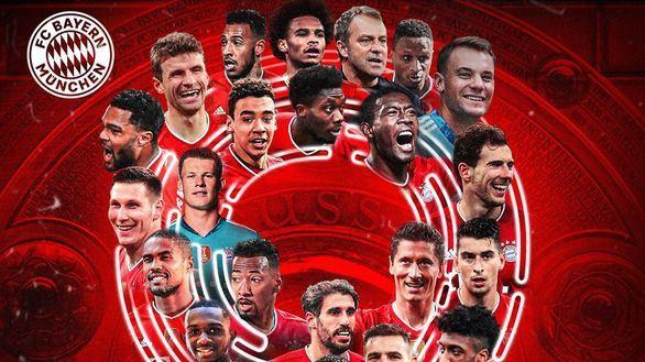 Ligas europeas. El Bayern hace historia y PSG y Juventus se descalabran