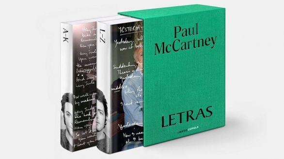 Letras, un autorretrato de Paul McCartney a través de 154 canciones