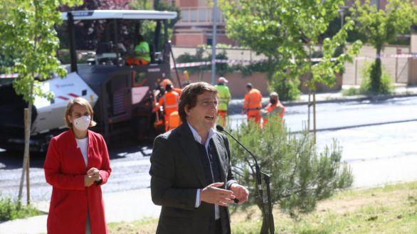Almeida emprende la mayor operación asfalto de la historia de la ciudad de Madrid