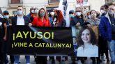 Empresarios, trabajadores y representantes del ocio nocturno se han concentrado este lunes en la plaza Sant Jaume de Barcelona para reclamar a la administración un plan de reapertura urgente.