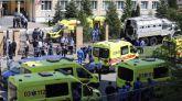 Nueve muertos y 21 heridos en un ataque a una escuela rusa perpetrado por un exalumno