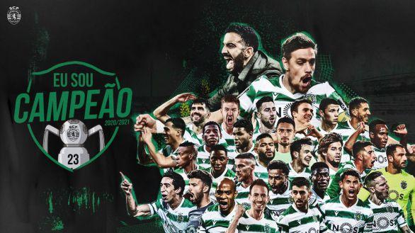 Ligas europeas. El Sporting se proclama campeón de Portugal tras 19 años de sequía
