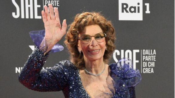 Sophia Loren gana el David de Donatello como mejor actriz a los 86 años
