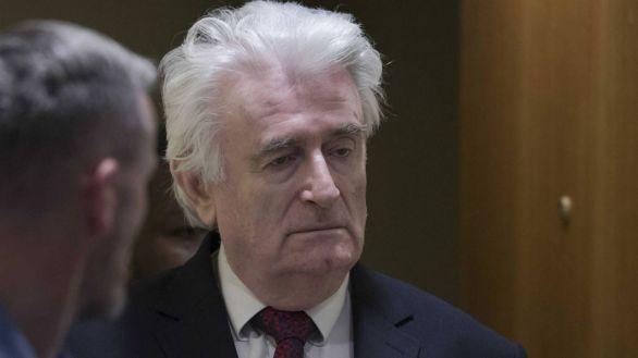 El exlíder serbobosnio Radovan Karadzic cumplirá el resto de su condena en Reino Unido