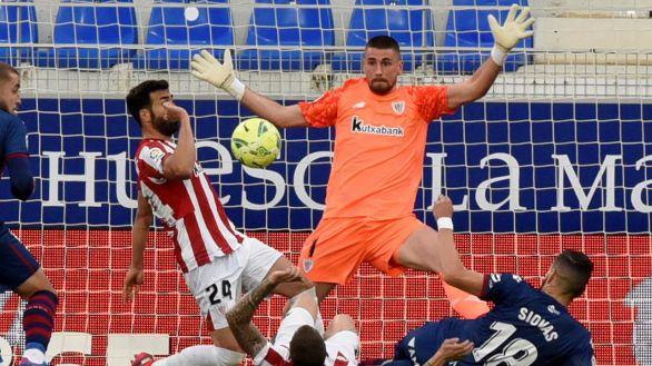 El renacido Huesca suma más relleno a su intento de salvarse | 1-0