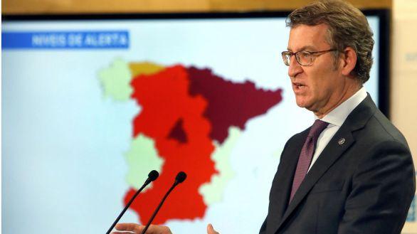 El TSJ de Galicia avala el toque de queda en cinco municipios