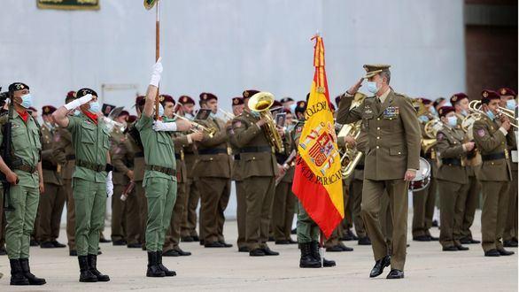 El Rey recibe a los últimos 24 militares de la misión en Afganistán