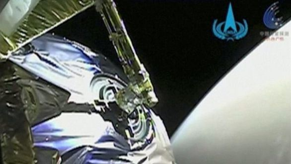 China, tercer país que posa un vehículo explorador en el planeta Marte