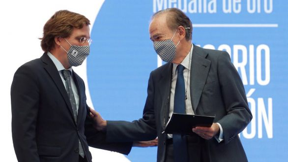 Gregorio Marañón, medalla de oro del Ayuntamiento de Madrid