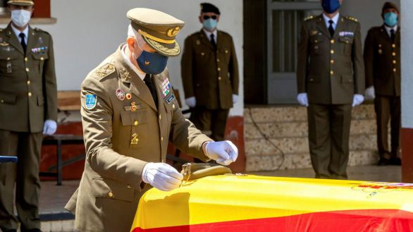Medalla al Mérito Militar para la sargento fallecida el viernes en Alicante