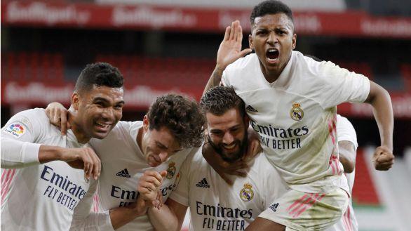 Nacho mantiene el sueño liguero del Real Madrid |0-1
