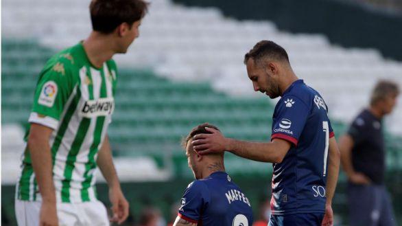 El Huesca sigue vivo pese a caer ante el Betis |1-0