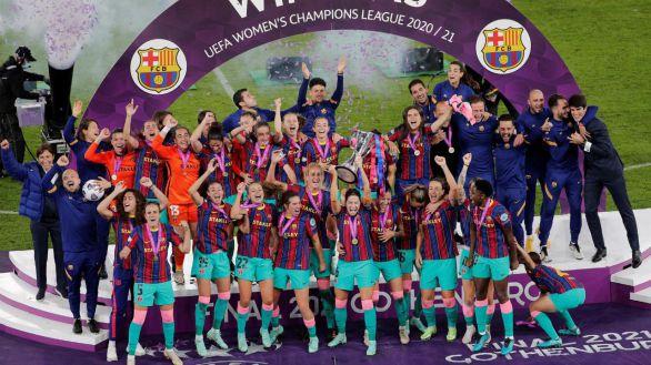 Una primera parte de ensueño da al Barcelona su primera Champions |0-5