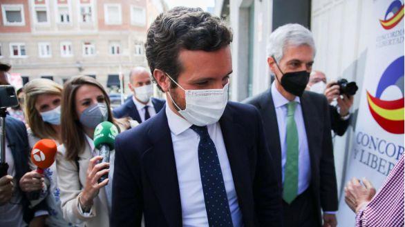 Casado: 'Si Sánchez acepta indultar a los presos del procés, la legislatura habrá acabado'