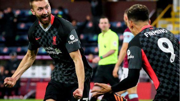 El Liverpool, a un paso de entrar en Liga de Campeones